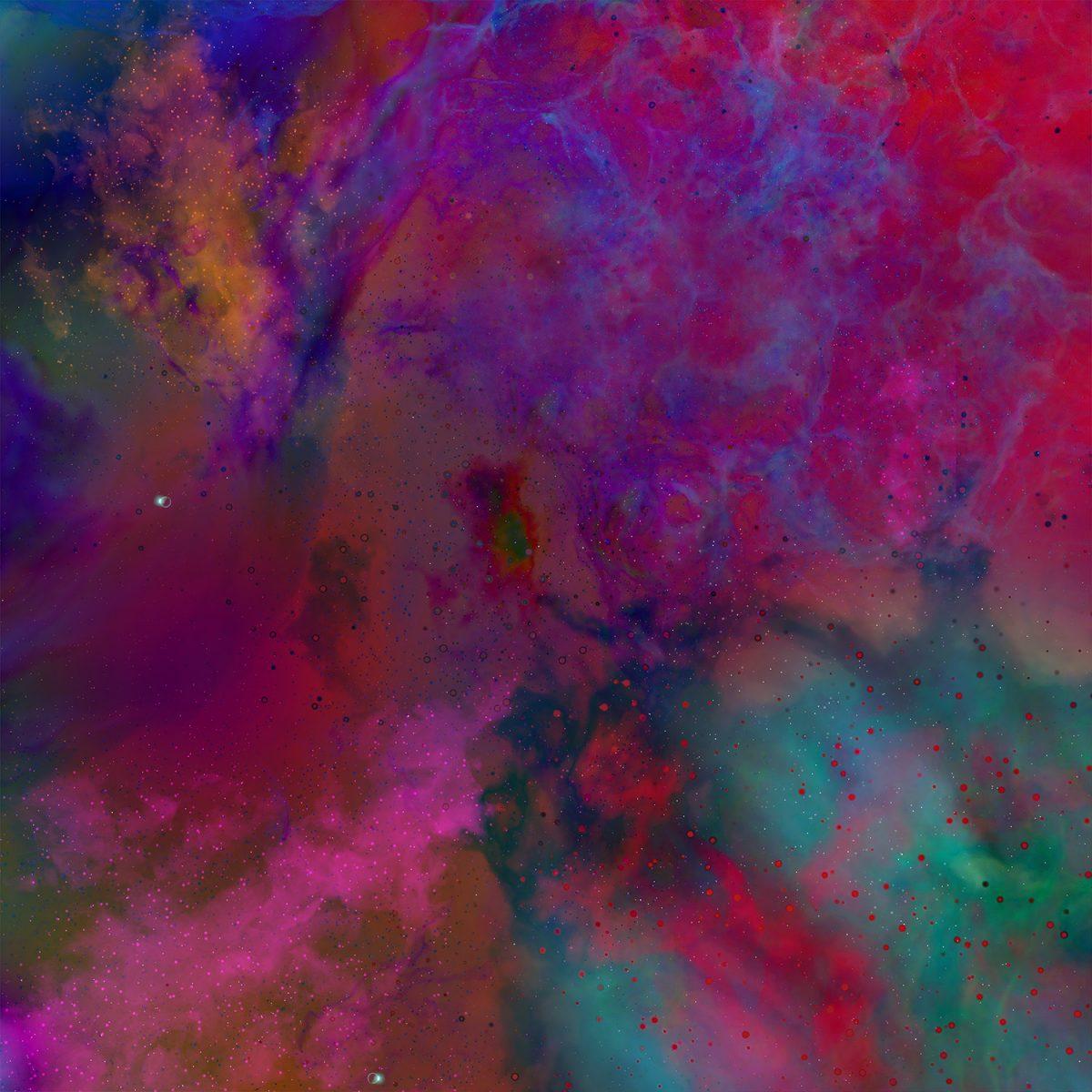 Space illustration Nebula